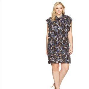 Rachel Roy plus size ruffle tie dress